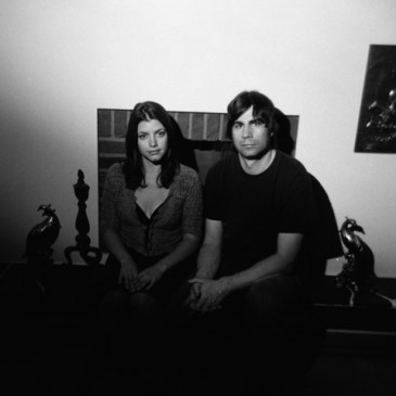 Todd Fancey and band mate Anastasia Siozos, photo by Robert Fougere