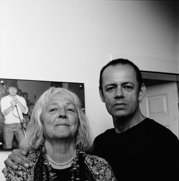 Bev Davies and Jim Cummins, a.k.a. I, Braineater, photographed by Robert Fougere