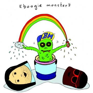 Boogie Monster - Illustration by TJ Reynolds