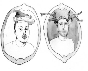 Conor Holler and Cameron Reed, illustration by Mérida Anderson