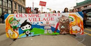 Tent City Protest