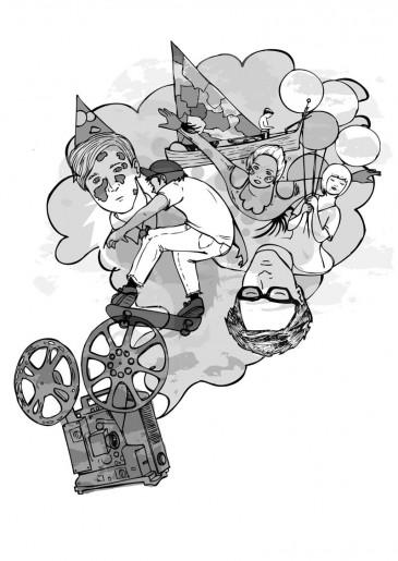 Salazar, illustration by Karlene Harvey