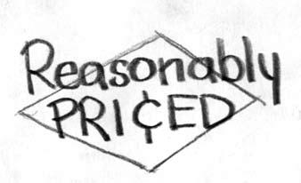 Reasonably priced