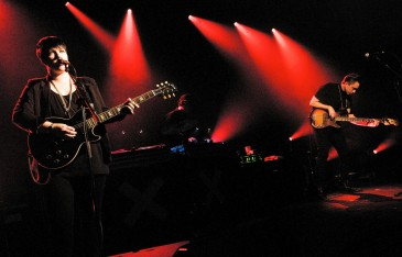 The xx, photo by Steve Louie