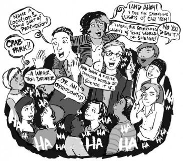 Illustration by Karlene Harvey