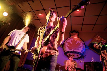 Black Lips @ the Royal Canadian Legion by Steve Louie
