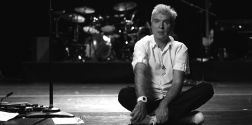 David Byrne in Ride, Rise, Roar