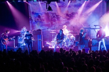 Broken Social Scene, photo by Jon Pesochin