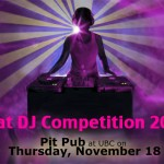 CiTR and AUS present... That DJ Competition 2010!!