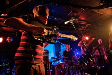 Thee Oh Sees, photo by Steve Louie