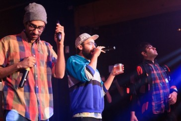 Das Racist, photo by Gerald Deo