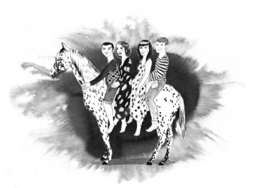 The Oh Wells, illustration by Louise Reimer