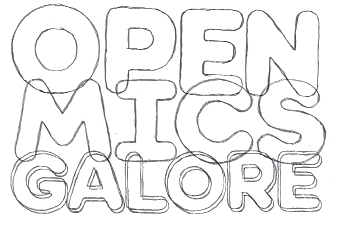 open mics galore illustration