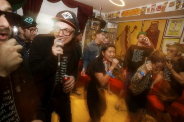 Too High Crew at Tubby Dog | | Photo by Steve Louie
