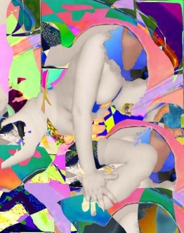 digital collage by Crystal Dorval