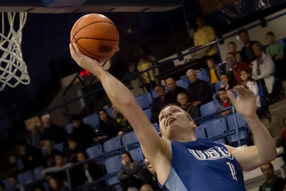 UBC Thunderbirds men's basketball on CiTR 101.9 FM Sports