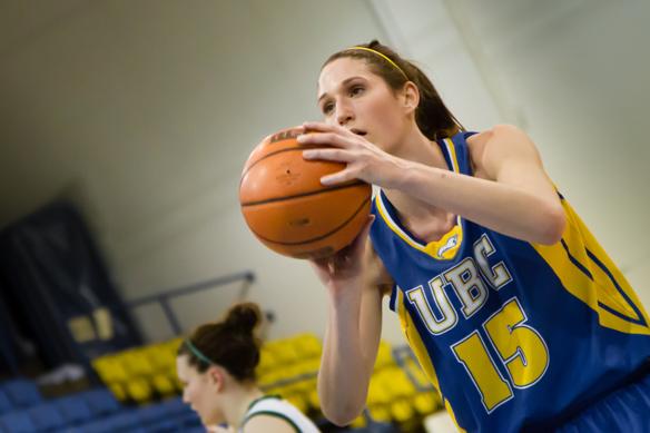 UBC Thunderbirds women's basketball on CiTR 101.9 FM Sports