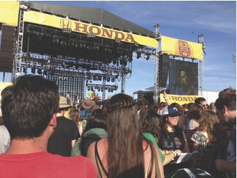 Devendra Banhart at the Honda (Bigfoot) stage