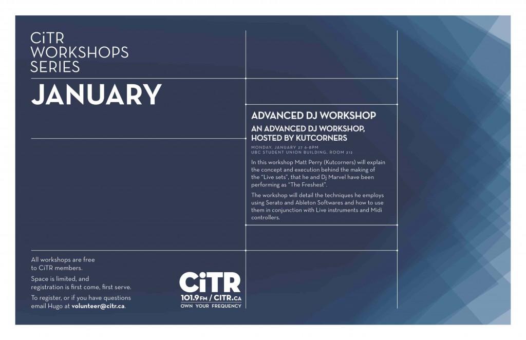 workshops-january-2014