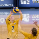 UBC Thunderbirds women's volleyball on CiTR 101.9 FM Sports