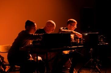 Clement, Olsen, Ruhlmann     photo by Steve Louie