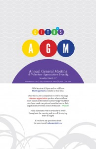 Annual General Meeting Poster