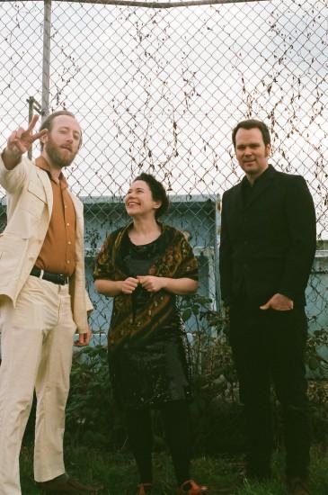 Adrien Teacher, Amanda Pezzutto and Shawn Mrazek