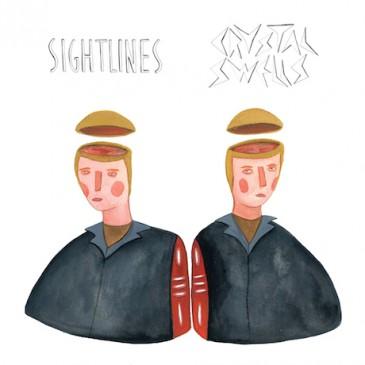 Sightlines/Crystal Swells Split seven-inch album cover