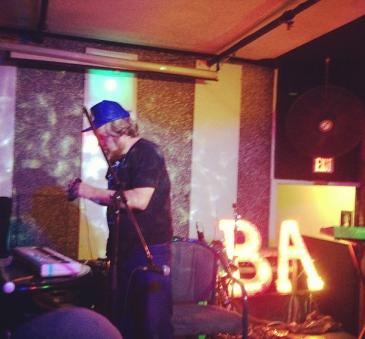 B.A. @ the Astoria last September