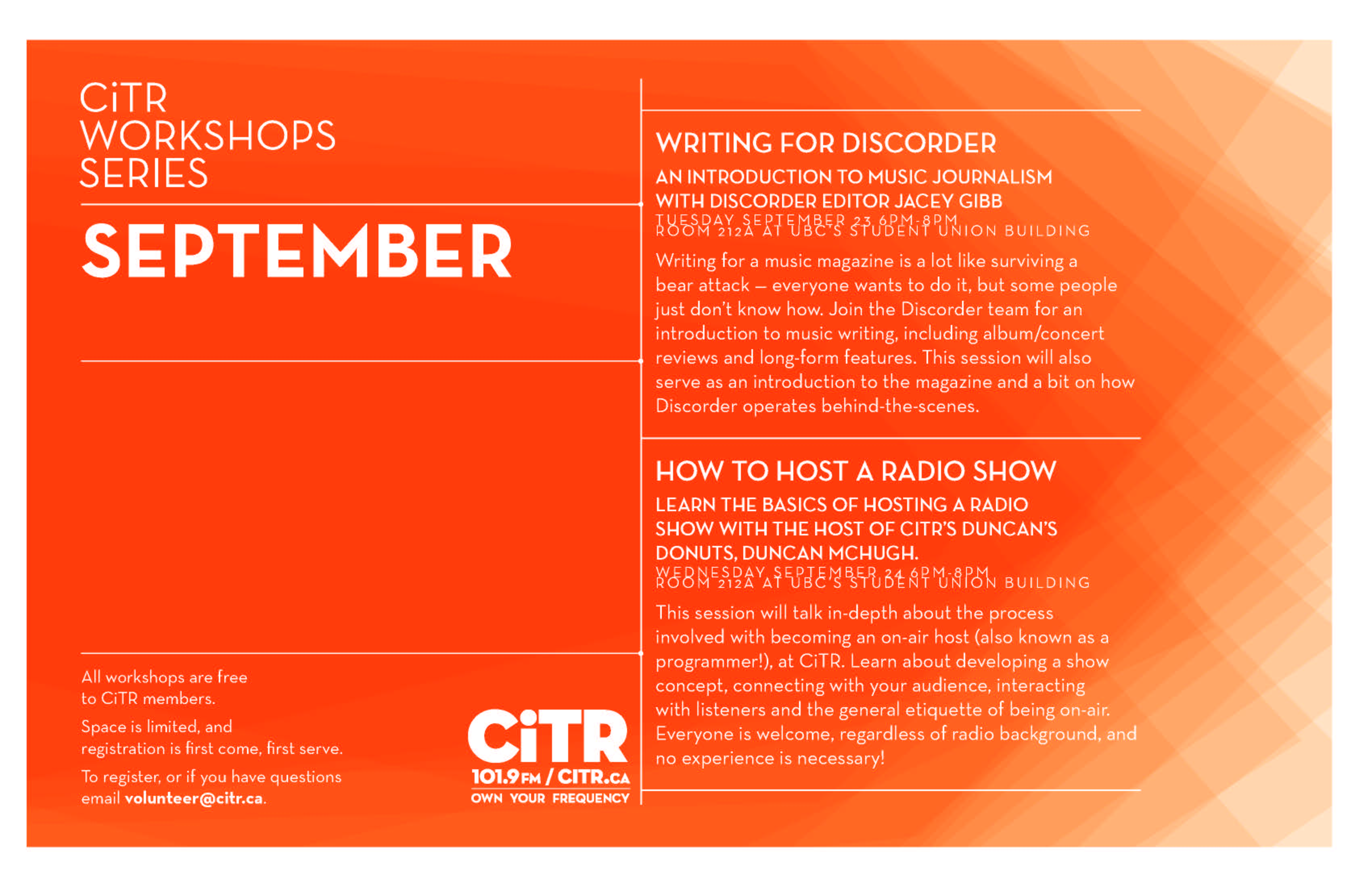 workshops-sept