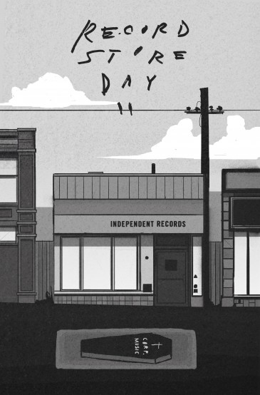2015_discorder_RECORD STORE DAY_Full page_Ilustration_BW_Final