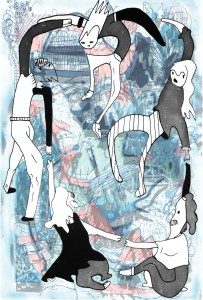 Discorder Mag Art Rock_full page illustration