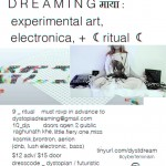 Dystopia Dreaming - Flyer