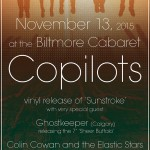 copilots vinyl release 2015 poster