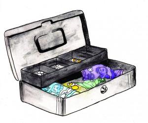 Illustration for Alison Sadler for Discorder Magazine