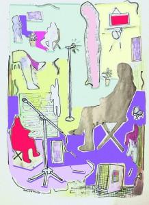 Illustration by Amelia Garvin for Discorder Magazine