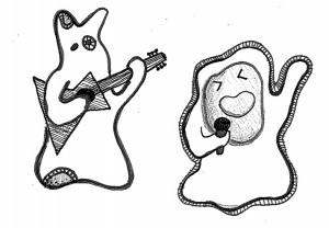 Lets Talk Culture    Illustration by Aliz Horvath for Discorder Magazine