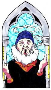 Holy Smokes || Illustration by Alison Sadler for Discorder Magazine
