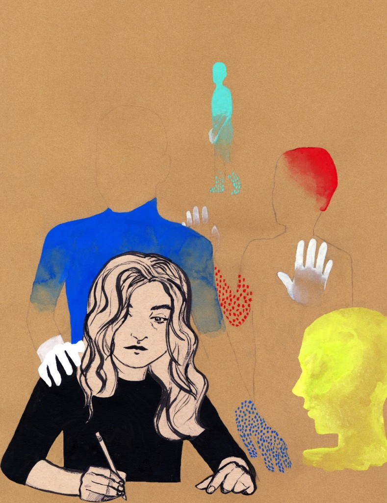 Illustration by Emma Potter for Discorder Magazine