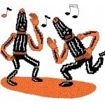 copy / paste   Illustration by Zad Kokar for Discorder Magazine