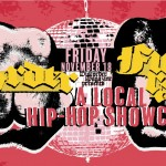 Discorder hip hop showcase fundraiser banner