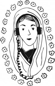 Chapel Sound || Illustration by Mel Zee for Discorder Magazine