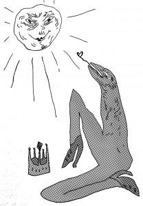 The Courtneys    Illustration by Olga Abeleva for Discorder Magazine