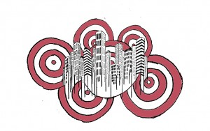 Quiet City || Illustration by Jules Galbraith for Discorder Magazine