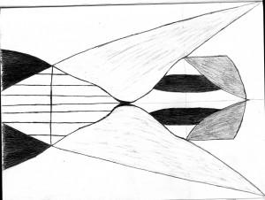 White Noise    Illustration by Neetu Dha for Discorder Magazine