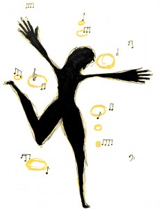 Little Bit Of Soul    Illustration by Emily Valente for Discorder Magazine