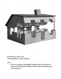 Discorder Art Project by Rachel & Sarah Seburn