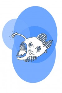 Deep Blue || Illustration by Jules Galbraith for Discorder Magazine