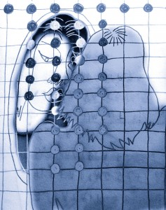 Sammy Chien || Illustration by Olga Abeleva for Discorder Magazine