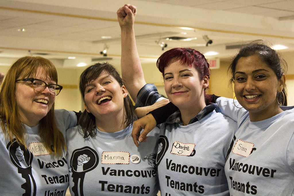 Vancouver Tenants Union | Photography Courtesy of Kelly Yorke